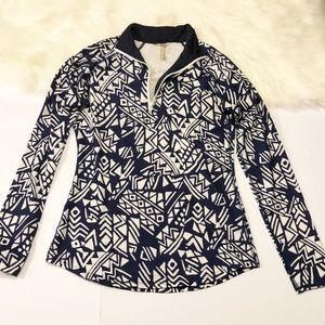 PRISMSPORT pullover workout jacket w/ fleece M